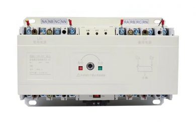 Dual power transfer switch, ATS